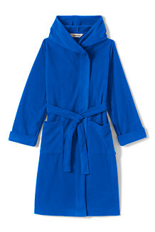 Boys' Plain Fleece Dressing Gown