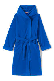 Toddler Kids Hooded Fleece Robe