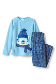 Boys Fleece Pajama Set
