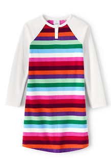 Girls' Stripe Fleece Nightie
