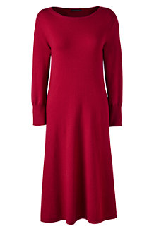 Women's Merino Wool Knitted Dress