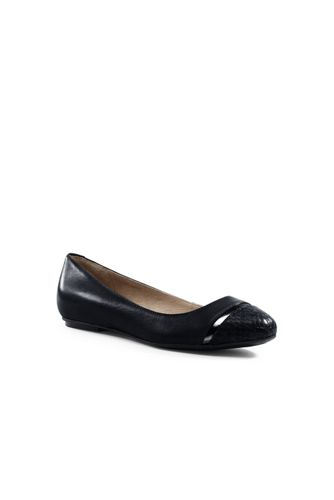 Women's Cap-toe Ballet Pumps