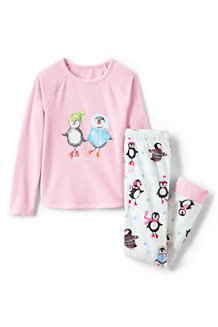 Girls' Fleece Graphic PJ Set