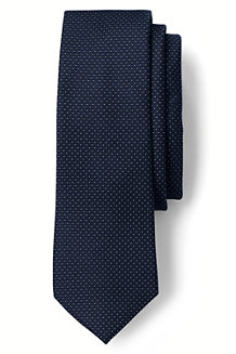 Men's Textured Dot Hand-sewn Silk Tie