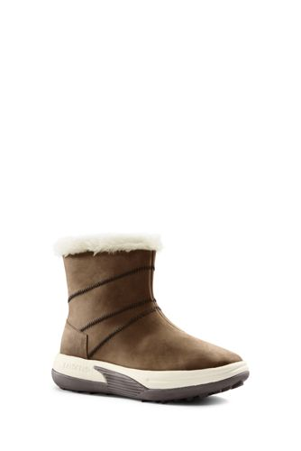 Women's Action Fur Trim Boots