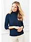 Women's Regular Drifter Cable Roll Neck Jumper