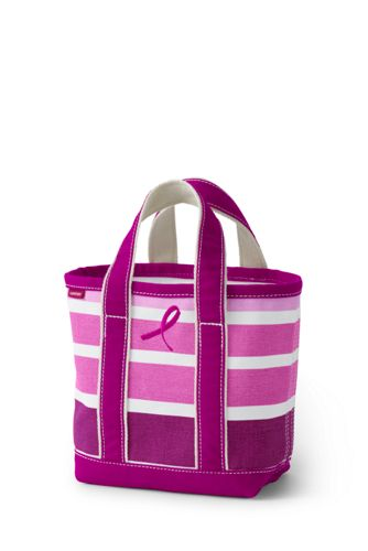 Small Print Open Top Tote Bag