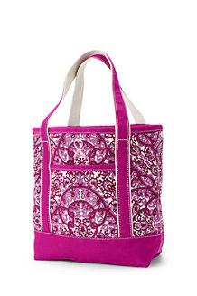Medium Print Open Top Tote Bag