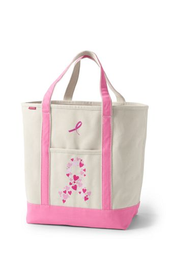Large Print Open Top Tote Bag