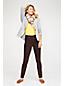 T-Shirt Uni Col V à Manches Longues, Femme Stature Standard