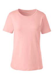 Women's Tall Shaped Cotton Crewneck T-shirt