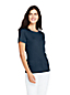 Women's Cotton Rib Crew Neck T-shirt