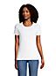 Women's Cotton Rib Crew Neck T-shirt
