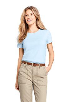 4a4e989c2449c Women s Cotton Rib Crew Neck T-shirt