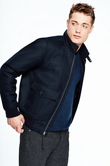 Men's Down Bomber Jacket