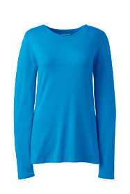 Women's Shaped Layering Long Sleeve T-shirt Crewneck