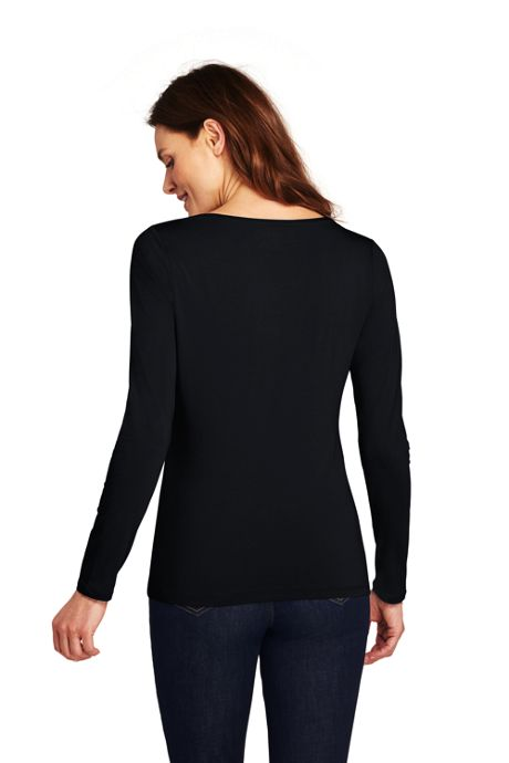 Women's Tall Shaped Layering Scoopneck T-shirt