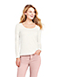 Women's Long Sleeve Cotton-modal Scoop Neck T-shirt