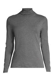 Women's Plus Size Shaped Layering Turtleneck