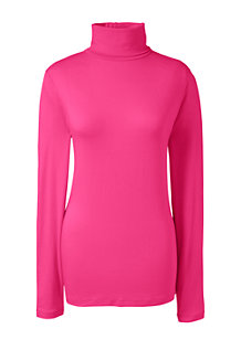 Women's Cotton/Modal Roll Neck