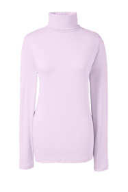 Women's Plus Size Lightweight Fitted Long Sleeve Turtleneck