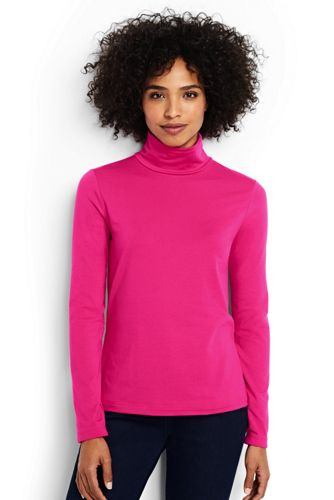Women's Shaped Layering Turtleneck from Lands' End