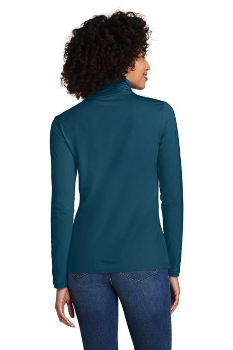 Women's Tall Lightweight Fitted Turtleneck Layering