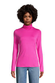Women's Lightweight Fitted Long Sleeve Turtleneck