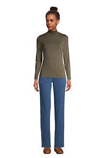 Rollkragenshirt aus Baumwoll/Modalmix