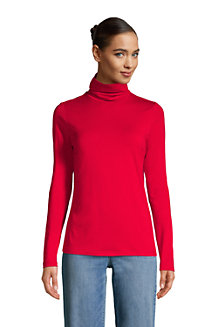 Women's Cotton-modal Roll Neck