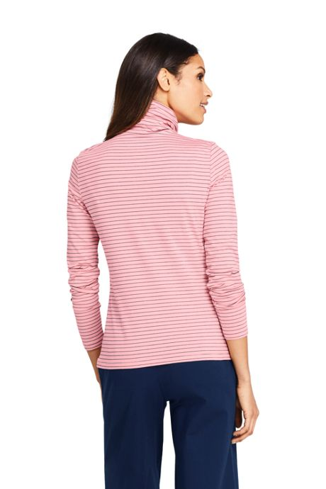 Women's Petite Lightweight Fitted Turtleneck Layering