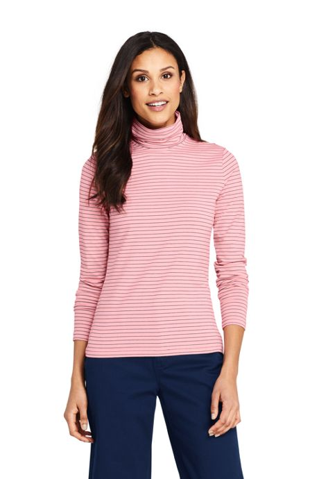 Women's Lightweight Fitted Turtleneck Layering