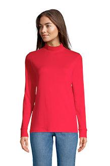 Women's Long Sleeve Polo Neck