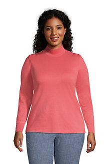 Women's Cotton Polo Neck Top