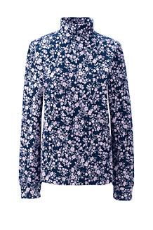 Women's Cotton Interlock Polo Neck