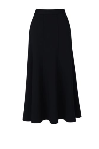 Women's Regular Ponte Jersey Midi Skirt