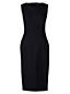 Women's Regular Ponte Jersey Sleeveless Darted Dress
