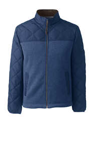 Men's Quilted Hybrid Jacket