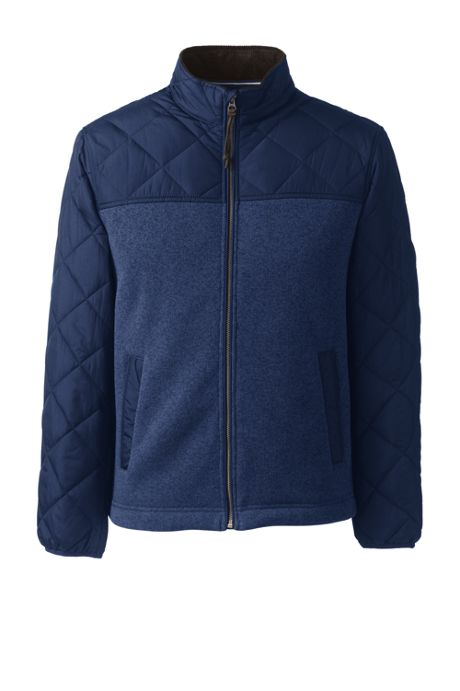Men's Quilted Hybrid Jacket