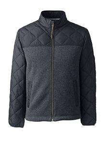 メンズ・セーターフリース×プリマロフト・ジャケット
