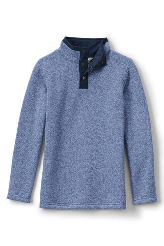 Boys' Sweater Fleece Half-zip Jumper