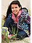 Girls' Sweater Fleece Half-zip Jumper