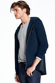 Men's Ottoman Hooded Zip Jacket