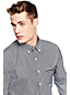 Men's Contrast Stripe Formal Shirt