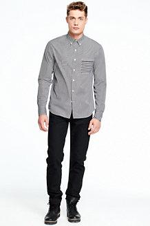 Men's Colourblock Formal Shirt