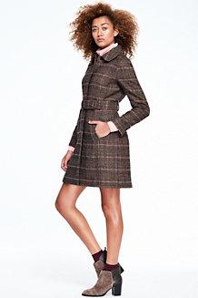 Le Manteau en Tweed Femme