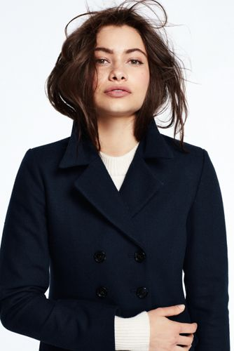 Women's Double-breasted Overcoat