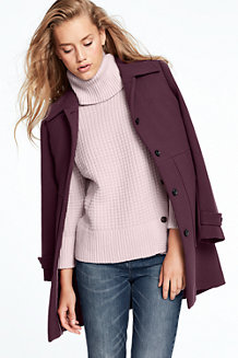 Women's Patch Pocket Coat