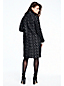 Women's Shawl Collar Cocoon Coat