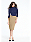 Women's Faux Wrap Pencil Skirt